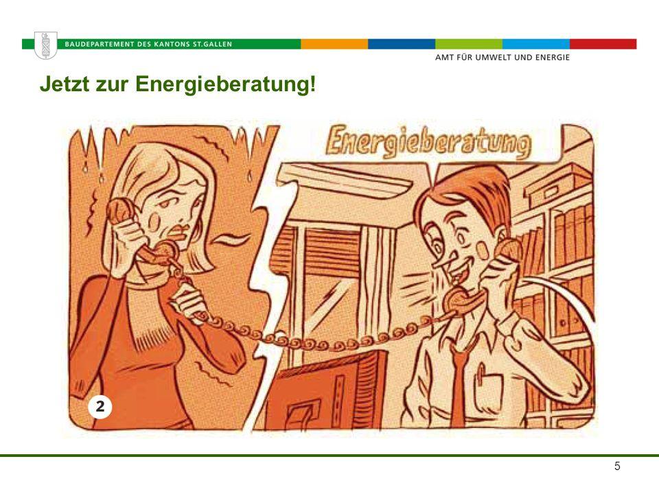 Amt für Umwelt und Energie Jetzt zur Energieberatung! 5