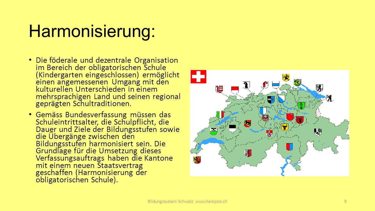 Bildungssystem Schweiz www.hansjoss.ch20