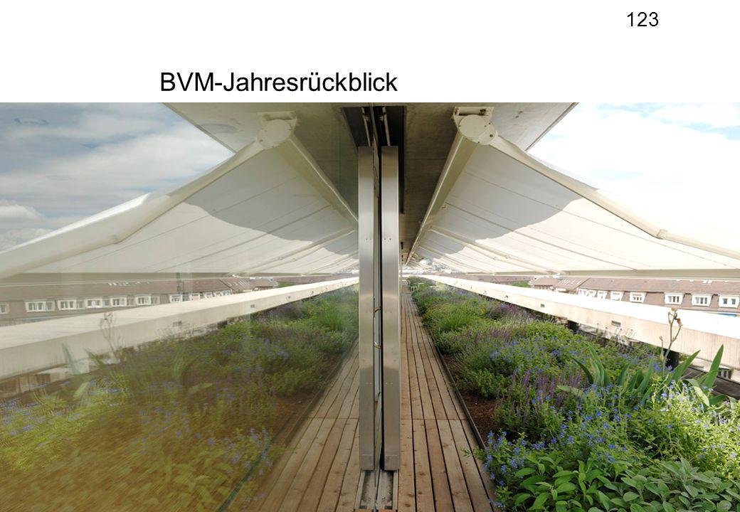 123 IV-Kaderveranstaltung vom 4. Februar 20141 BVM-Jahresrückblick