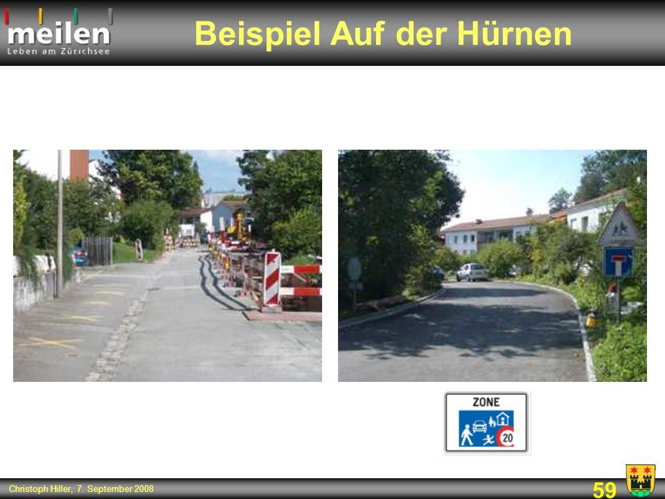 59 Christoph Hiller, 7. September 2008 Beispiel Auf der Hürnen
