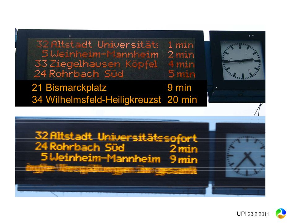 UPI 23.2.2011 21 Bismarckplatz 9 min 34 Wilhelmsfeld-Heiligkreuzst 20 min