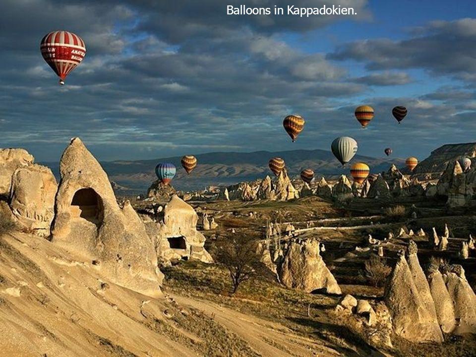 Balloons in Kappadokien.