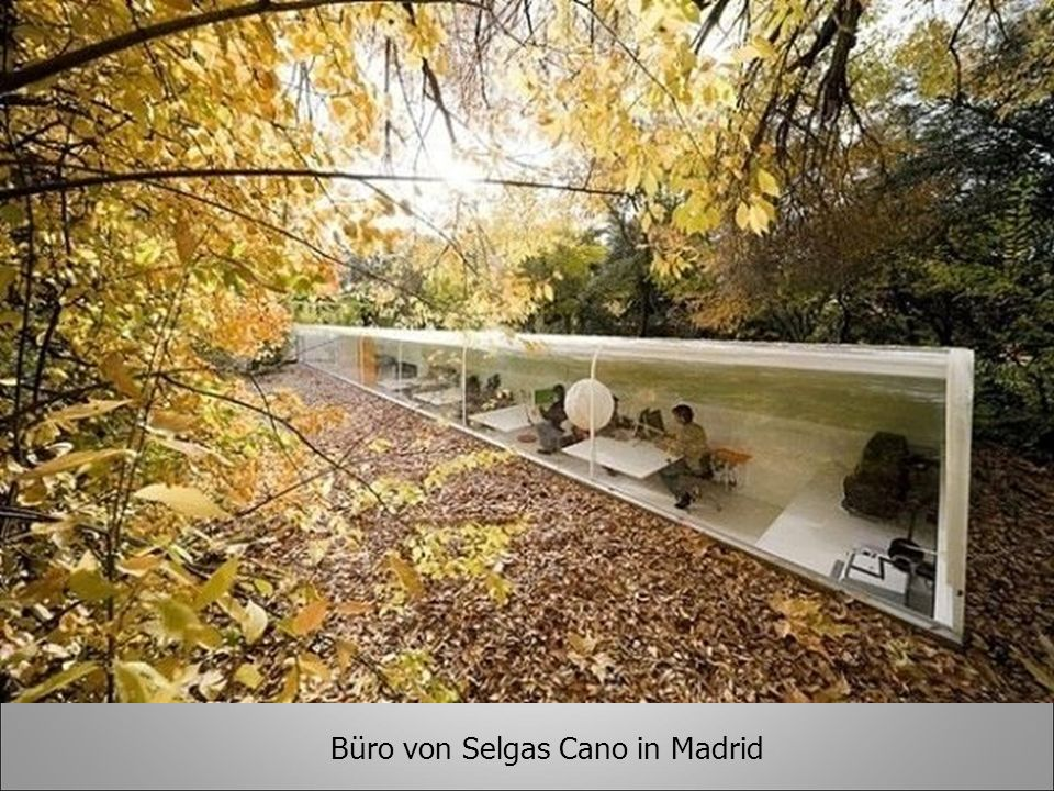 Büro von Selgas Cano in Madrid