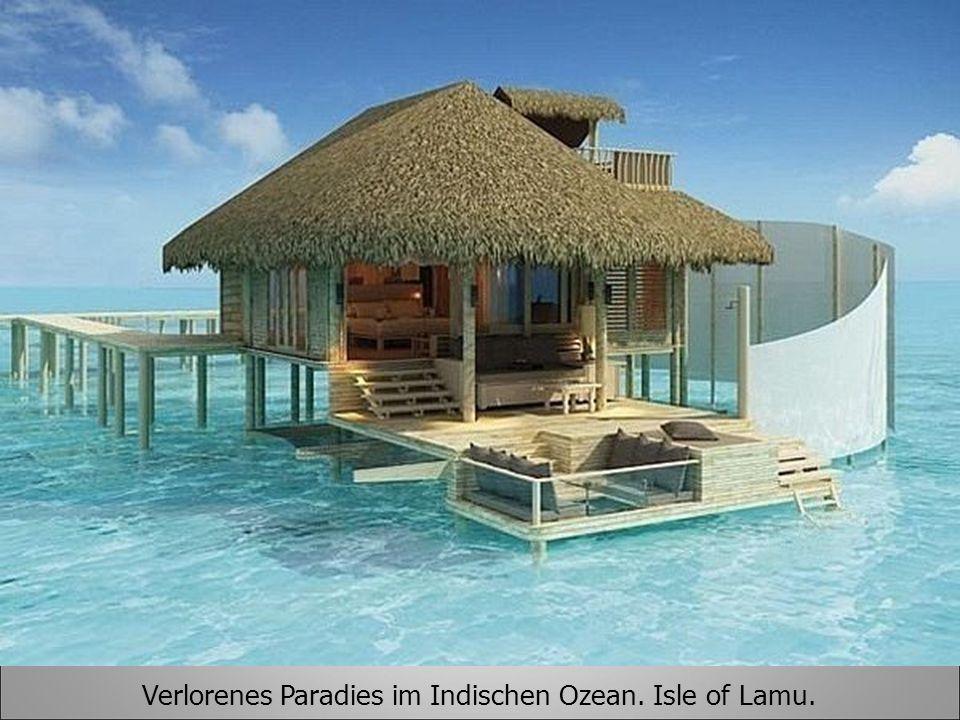 Verlorenes Paradies im Indischen Ozean. Isle of Lamu.
