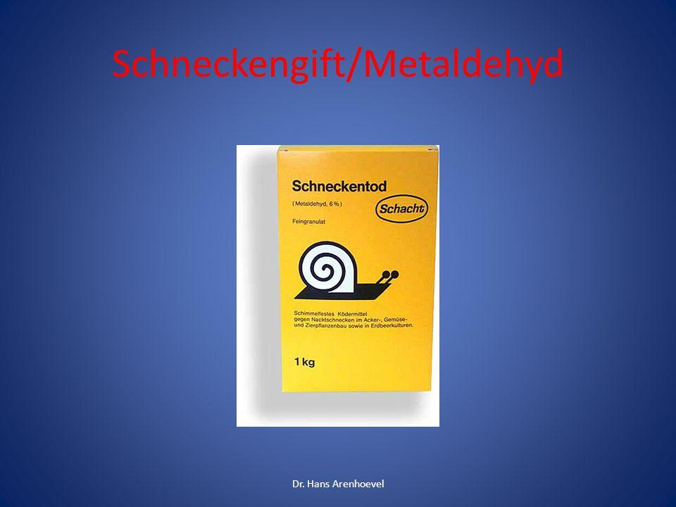 Schneckengift/Metaldehyd Dr. Hans Arenhoevel