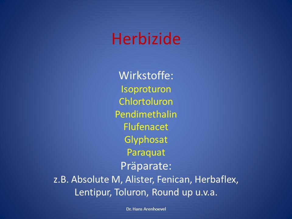 IN 70 PROZENT DER URINPROBEN WAREN 2013 RÜCKSTÄNDE VON GLYPHOSPHAT NACHWEISBAR Das Herbizid Glyphosphat wird in der Landwirtschaft flächendeckend eingesetzt Dr.