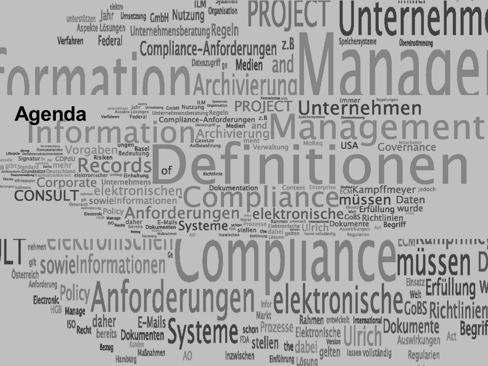 4 ELO-Fachkongress Keynote ECM Dr.Ulrich Kampffmeyer PROJECT CONSULT Unternehmensberatung Dr.