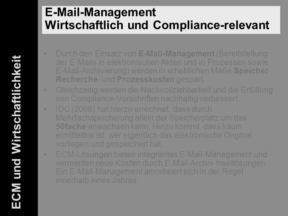 42 ELO-Fachkongress Keynote ECM Dr.Ulrich Kampffmeyer PROJECT CONSULT Unternehmensberatung Dr.
