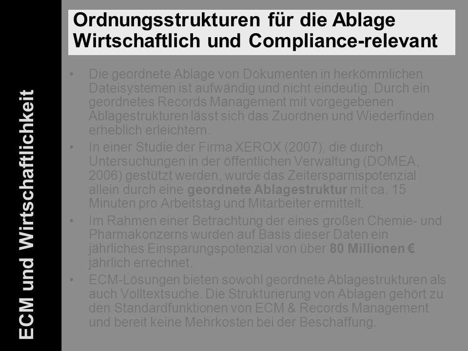 43 ELO-Fachkongress Keynote ECM Dr.Ulrich Kampffmeyer PROJECT CONSULT Unternehmensberatung Dr.