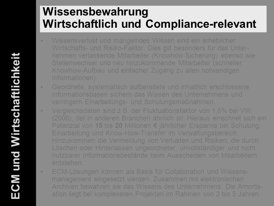 45 ELO-Fachkongress Keynote ECM Dr.Ulrich Kampffmeyer PROJECT CONSULT Unternehmensberatung Dr.