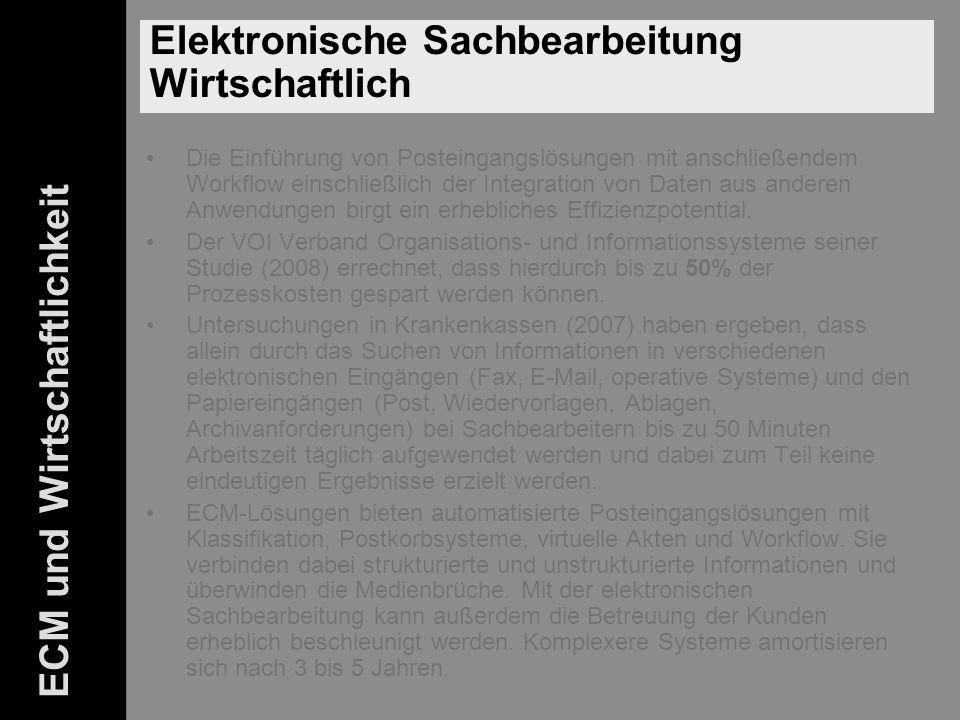 46 ELO-Fachkongress Keynote ECM Dr.Ulrich Kampffmeyer PROJECT CONSULT Unternehmensberatung Dr.