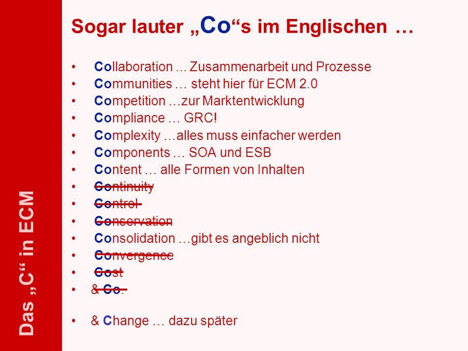 51 ELO-Fachkongress Keynote ECM Dr.Ulrich Kampffmeyer PROJECT CONSULT Unternehmensberatung Dr.