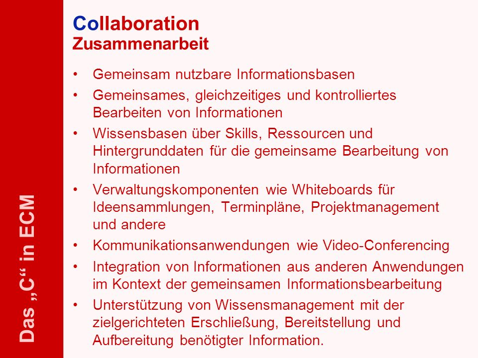 58 ELO-Fachkongress Keynote ECM Dr.Ulrich Kampffmeyer PROJECT CONSULT Unternehmensberatung Dr.