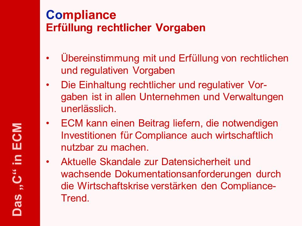 61 ELO-Fachkongress Keynote ECM Dr.Ulrich Kampffmeyer PROJECT CONSULT Unternehmensberatung Dr.