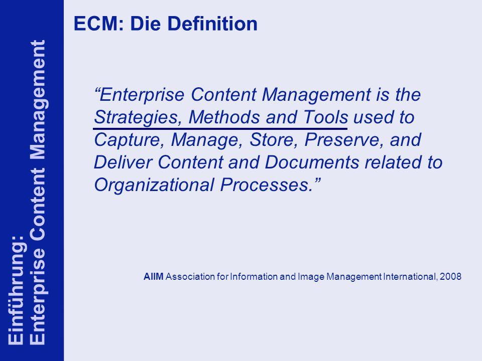 8 ELO-Fachkongress Keynote ECM Dr.Ulrich Kampffmeyer PROJECT CONSULT Unternehmensberatung Dr.