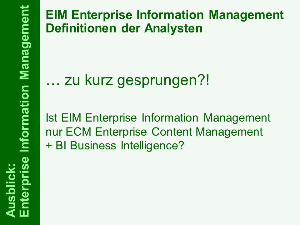 71 ELO-Fachkongress Keynote ECM Dr.Ulrich Kampffmeyer PROJECT CONSULT Unternehmensberatung Dr.