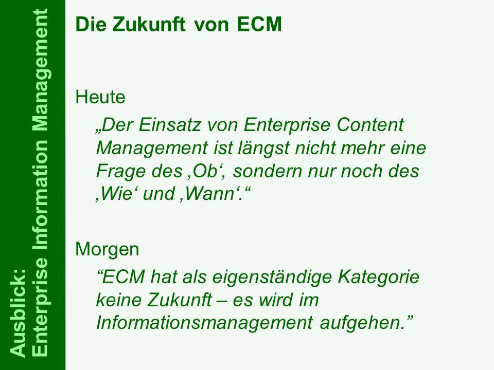 74 ELO-Fachkongress Keynote ECM Dr.Ulrich Kampffmeyer PROJECT CONSULT Unternehmensberatung Dr.