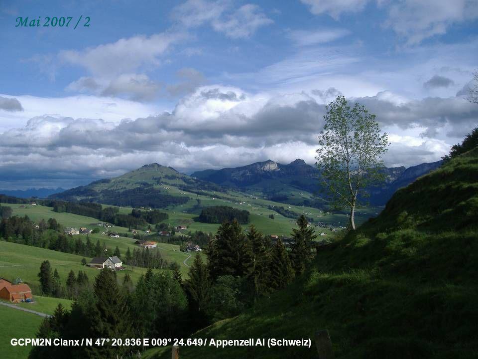 GCR9KZ Labyrinth #1 (Wolfwil) / N 47° 16.497 E 007° 48.511 / Wolfwil SO (Schweiz) Mai 2007 / 1