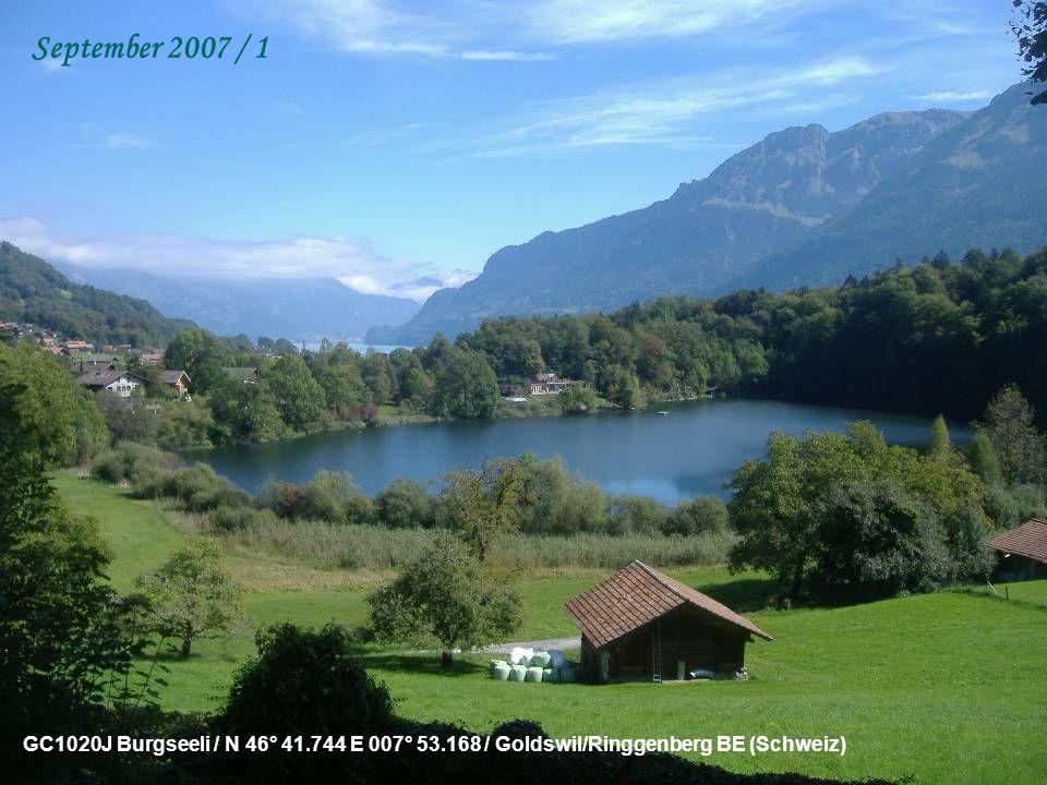 GCJR5H Reloader #6 – Le Château de Penthes / N 46° 13.933 E 006° 08.659 / Genève (Suisse) August 2007 / 2