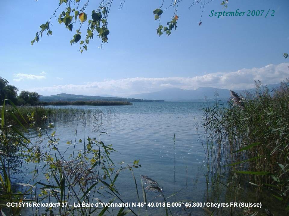 GC1020J Burgseeli / N 46° 41.744 E 007° 53.168 / Goldswil/Ringgenberg BE (Schweiz) September 2007 / 1