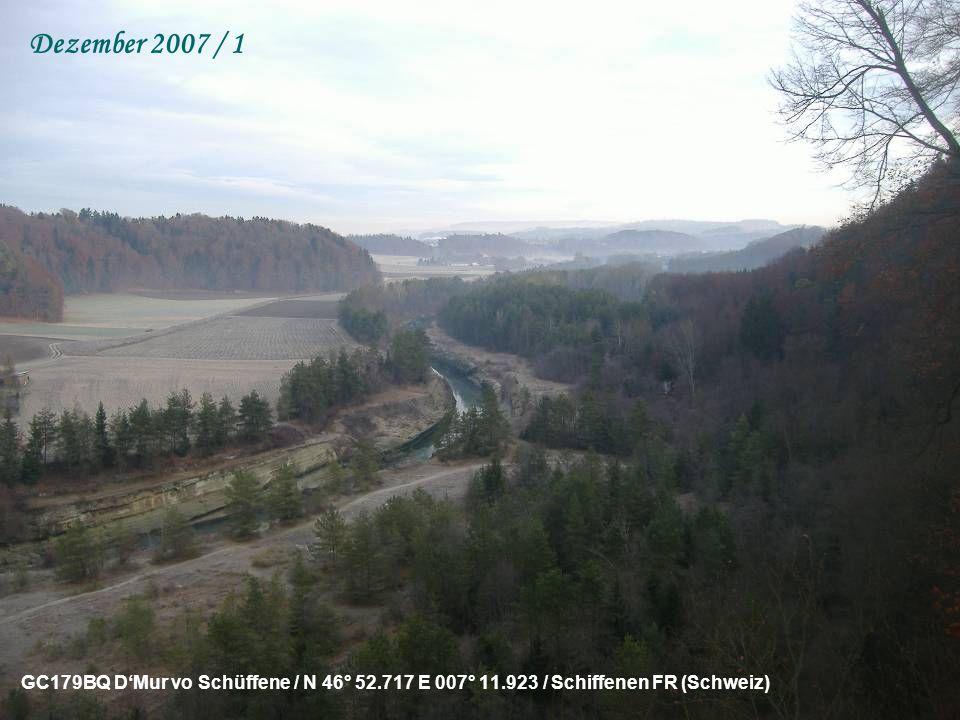 GC16VVE Kochcache – Aber nicht essbar / N 47° 08.486 E 007° 20.048 / Meienried BE (Schweiz) November 2007 / 2