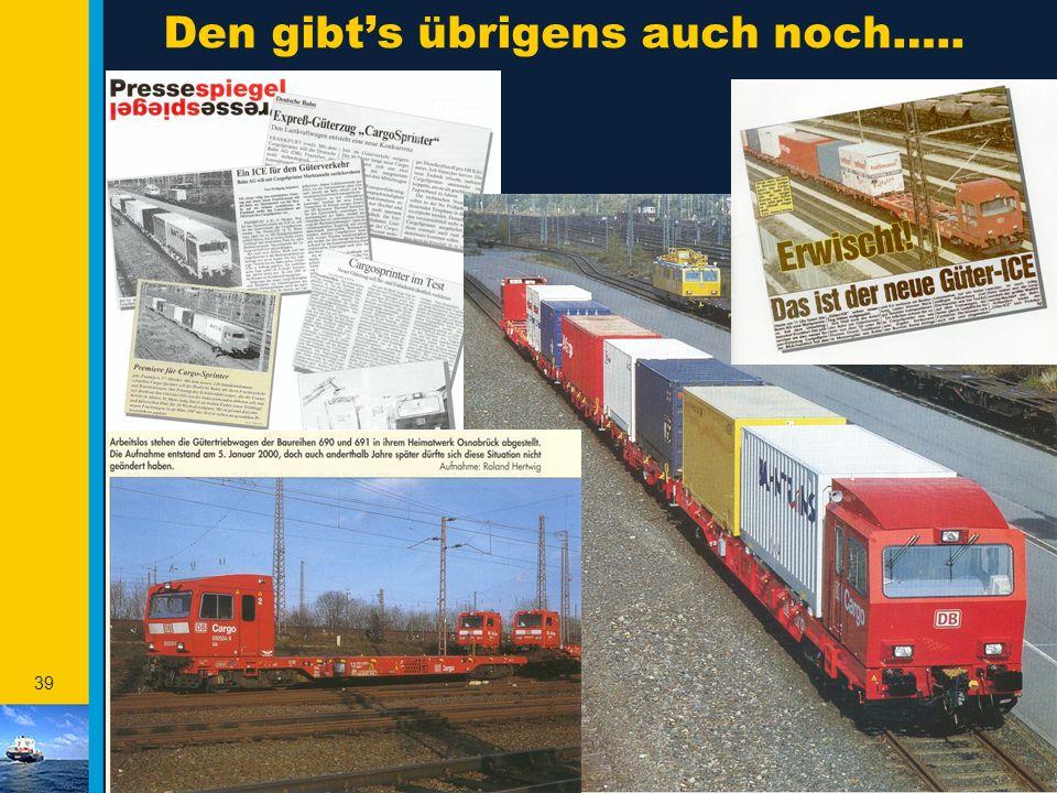 38 Privatbahnen in Deutschland anno ultimo 2001