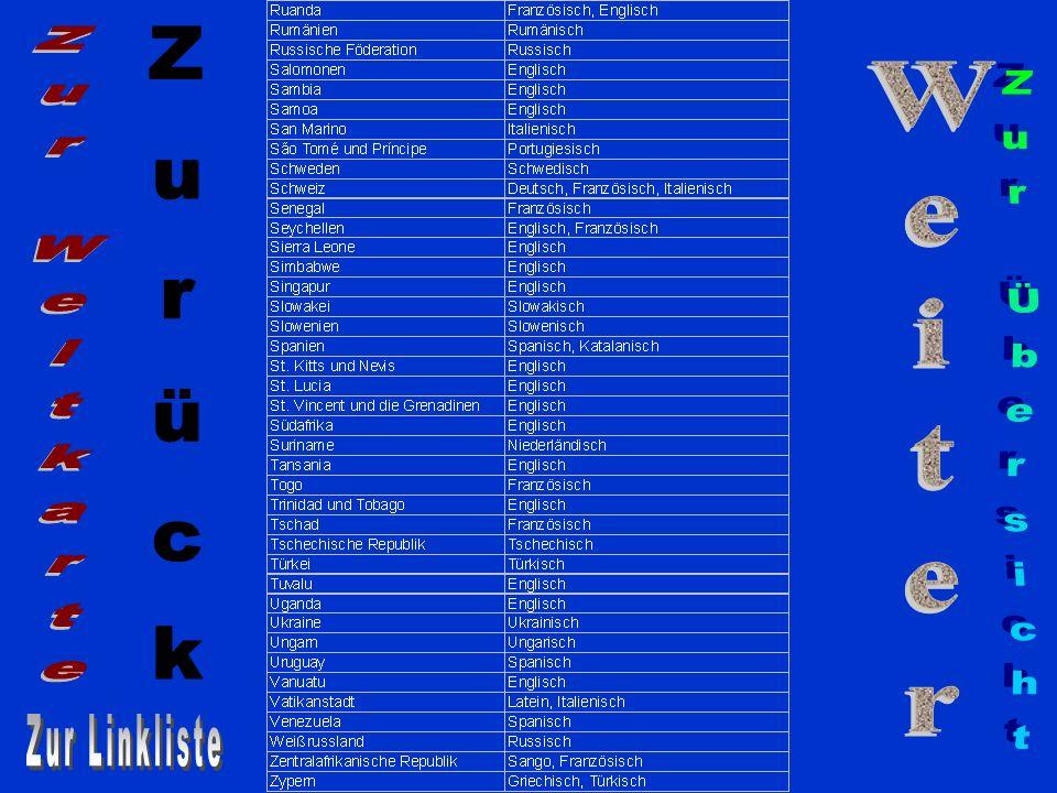 Liechtenstein Einwohner: 32 000 Amtssprache: Deutsch ZurückZurück WeiterWeiter Präsentation beenden
