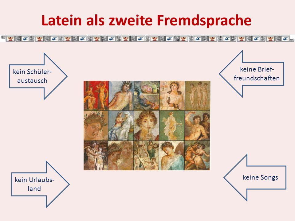 Unterricht: Erlernen von Vokabeln und Grammatik: Deus puellam amat.