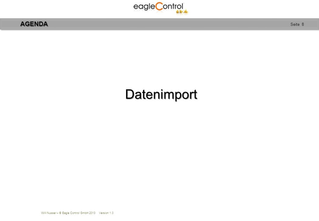 Willi Nusser – © Eagle Control GmbH 2013 Version 1.0 Seite 29REFERENZEN Alemannenhof Es gibt Orte, von denen Menschen behaupten, sie seien Kraftplätze.
