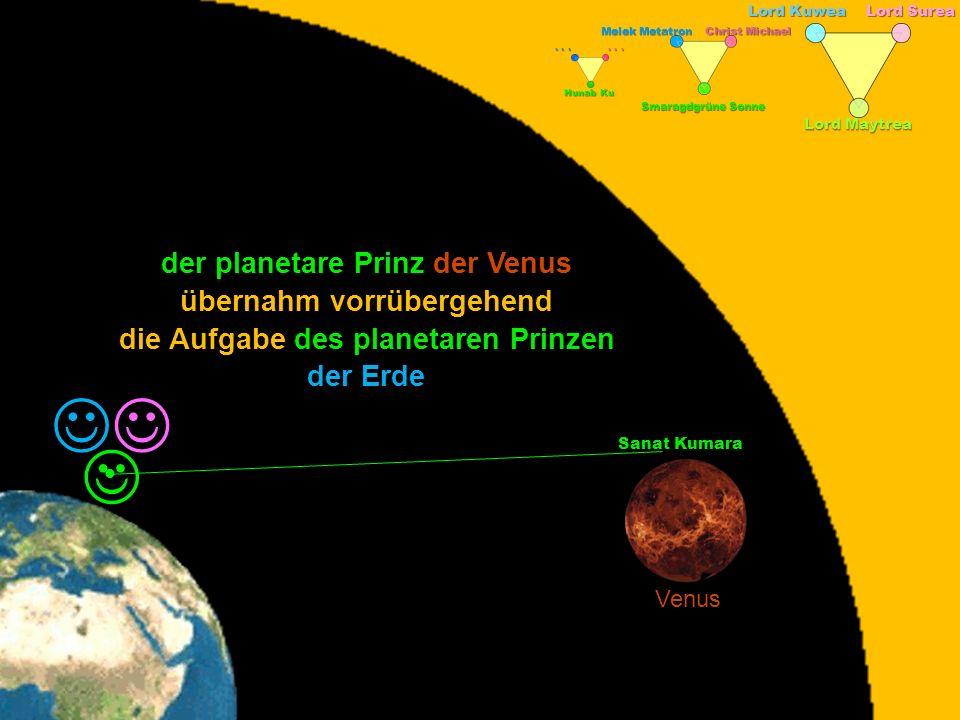 Lord Kuwea Lord Surea Lord Maytrea Melek Metatron Christ Michael Smaragdgrüne Sonne Hunab Ku... Sanat Kumara Venus der planetare Prinz der Venus der E