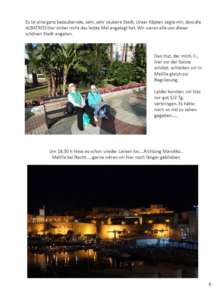 Das nächste Ziel heisst Tanger/Marokko....