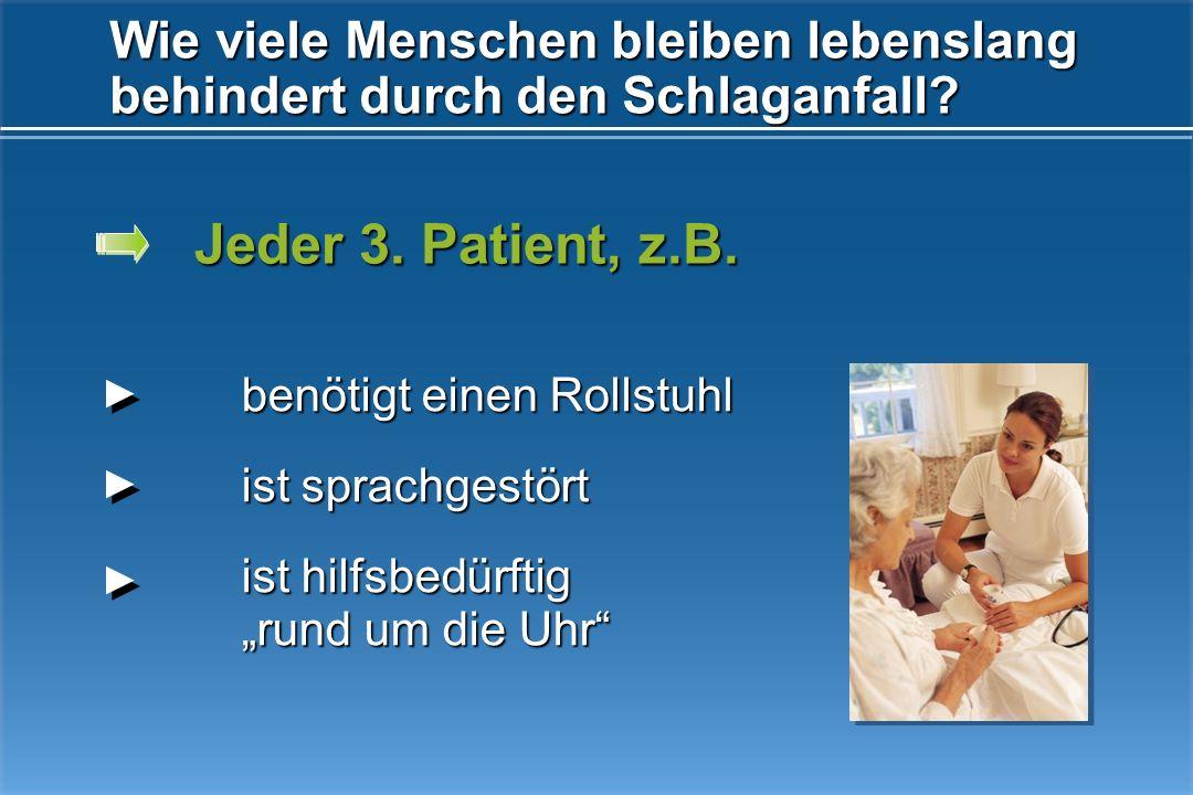 Kosten pro Schlaganfall in den ersten 12 Monaten (2004): Lebenslange Kosten pro Schlaganfallpatient (2004): Quellen: Erlanger Schlaganfall Register, I
