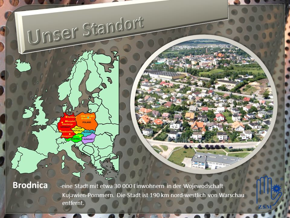 Brodnica -eine Stadt mit etwa 30 000 Einwohnern in der Wojewodschaft Kujawien-Pommern.