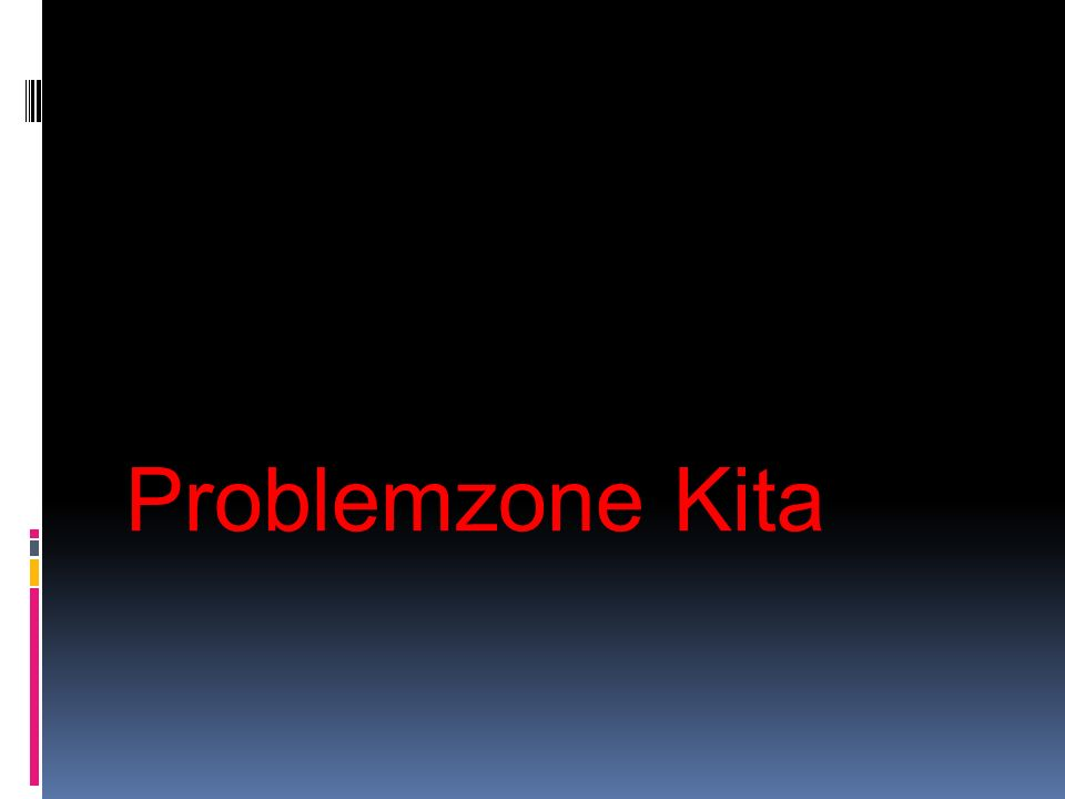 Problemzone Kita