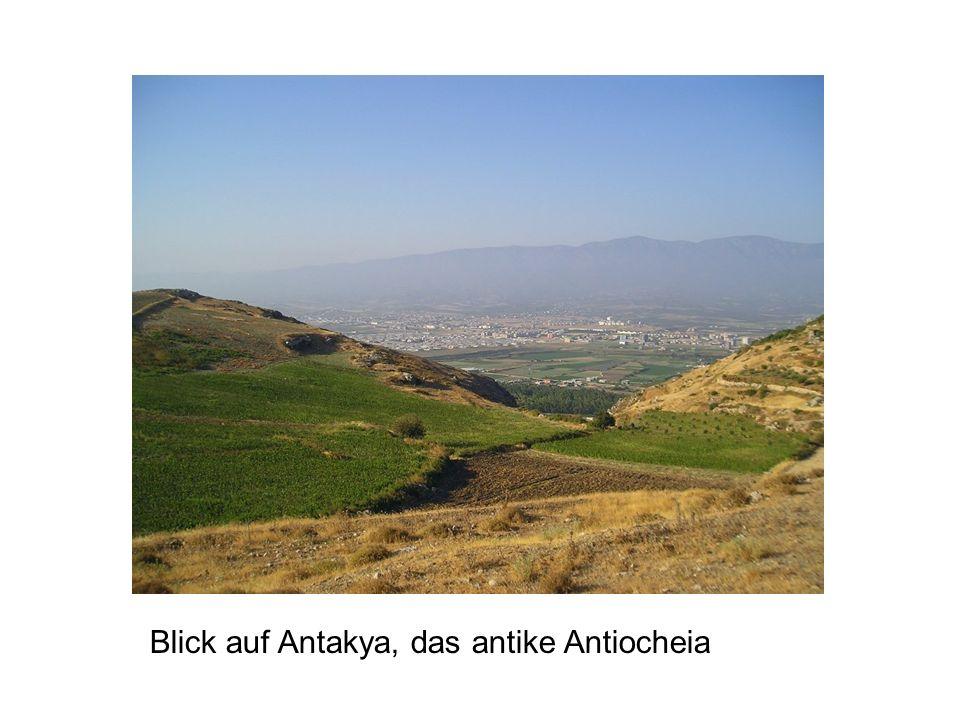 Blick auf Antakya, das antike Antiocheia