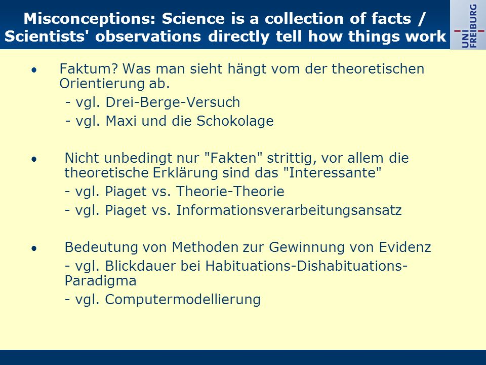 Misconception: Investigations that don t reach a firm conclusion are useless and unpublishable.
