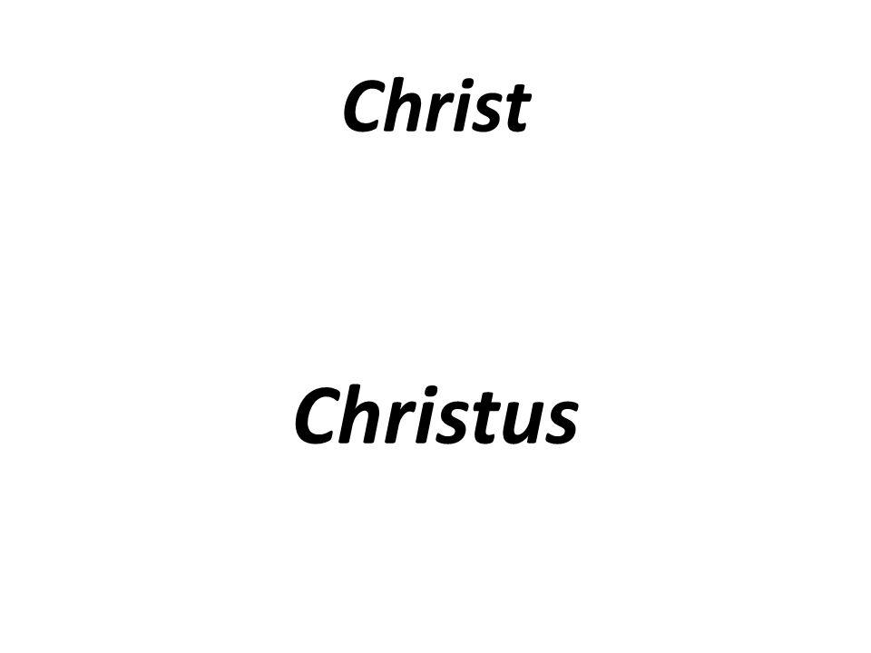 Christ Christus