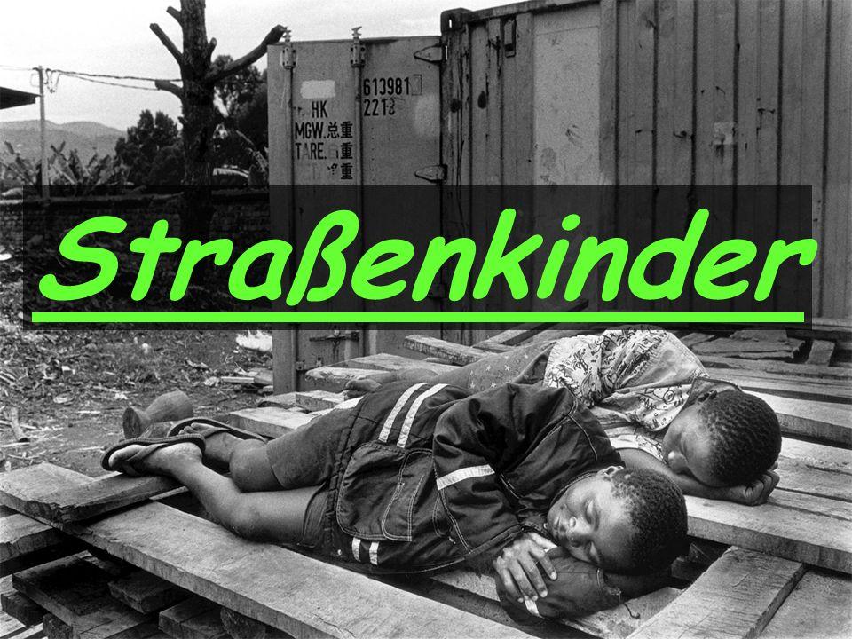 In armen Ländern steigt die Zahl der Straßenkinder.