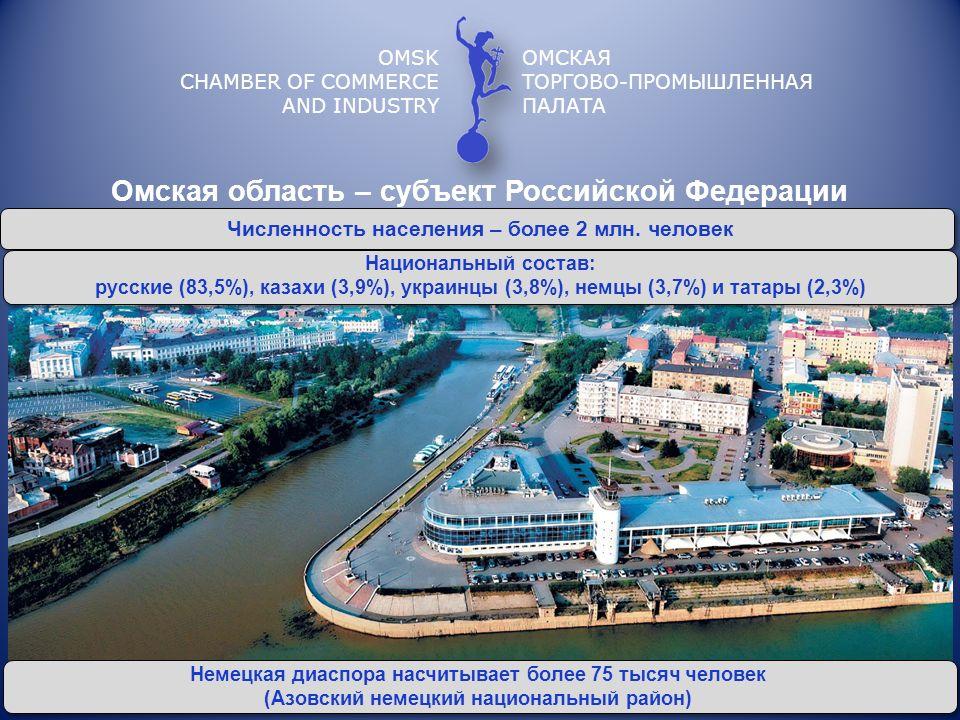 OMSK CHAMBER OF COMMERCE AND INDUSTRY ОМСКАЯ ТОРГОВО-ПРОМЫШЛЕННАЯ ПАЛАТА http://www.omsktpp.ru/ http://twitter.com/omsktpp 644007, Омск, ул.