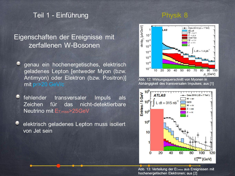 Teil 1 - EinführungPhysik 8 Eigenschaften der Ereignisse mit zerfallenen W-Bosonen animation, video, pictures of annihilation and pair production from