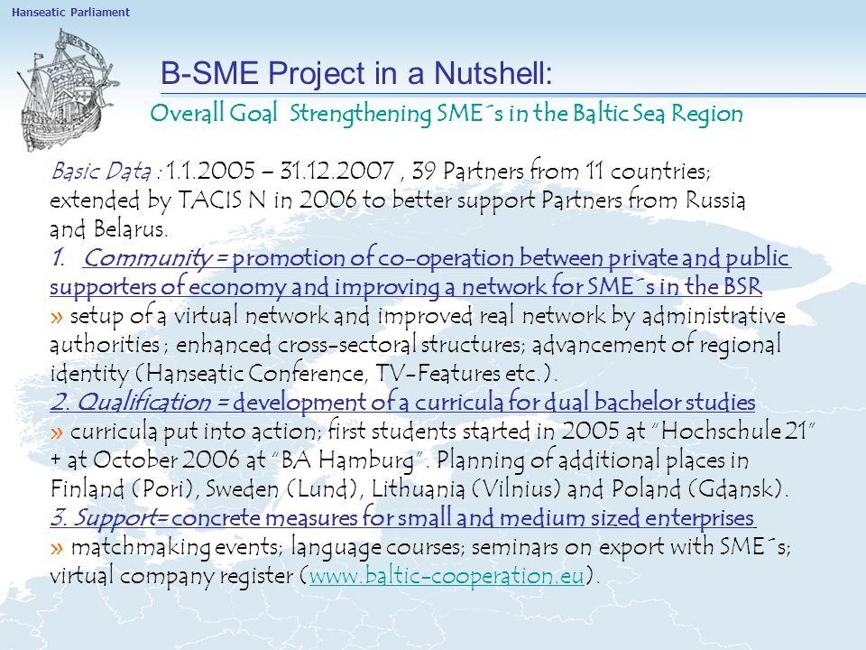 Project Baltic Education: Aufgaben 2.