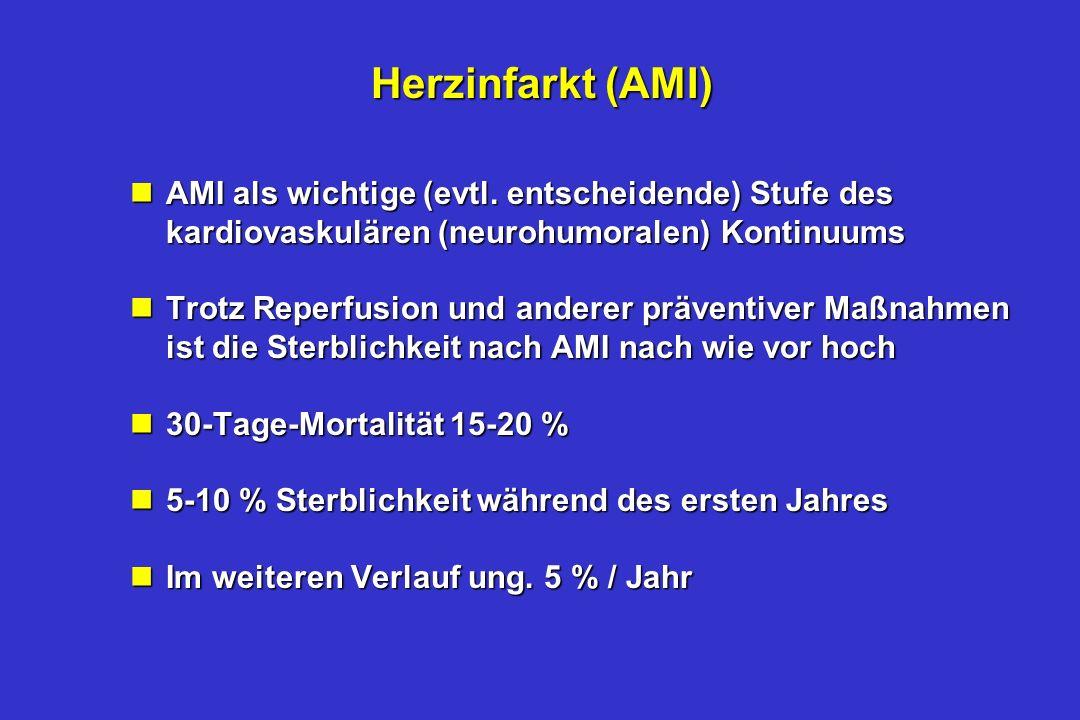 Herzinfarkt (AMI) nAMI als wichtige (evtl.