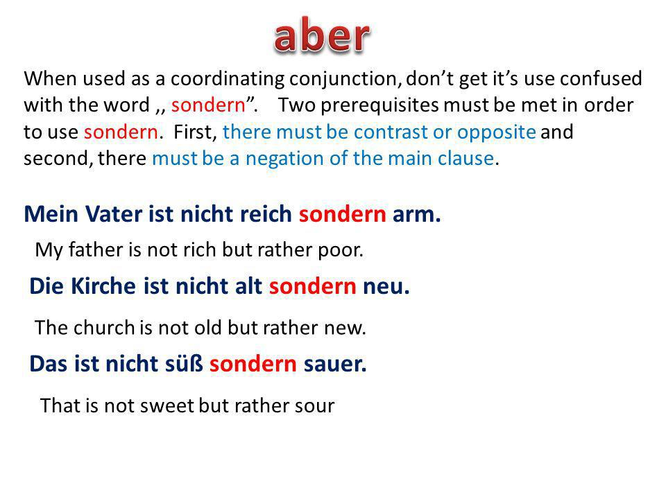 When,,aber is used as a modal particle its meaning is not always easily converted into English.