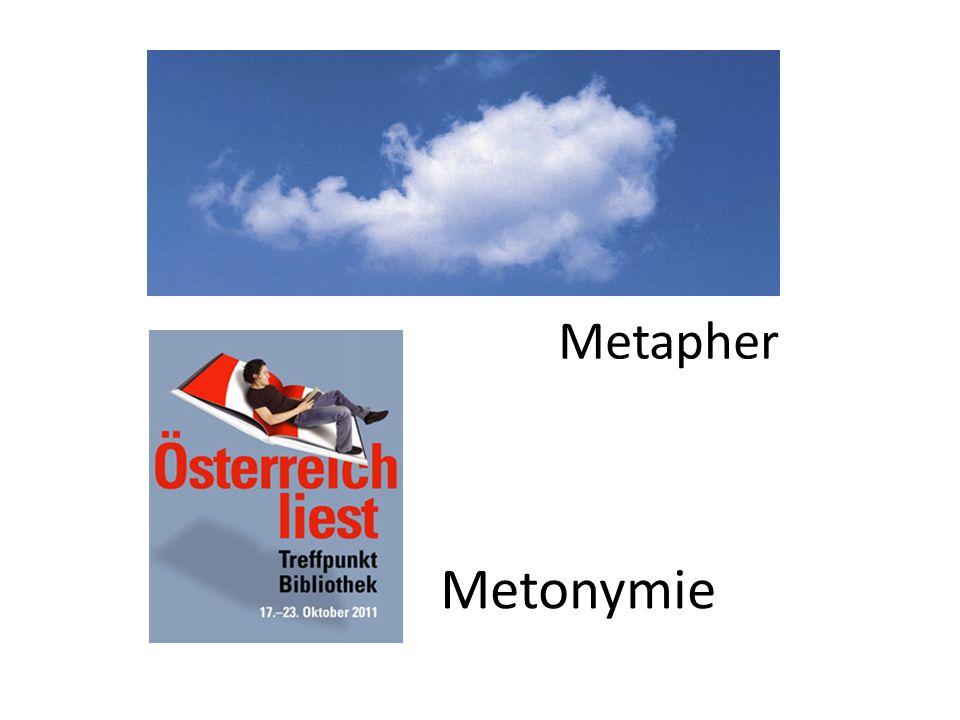 Metonymie Metapher