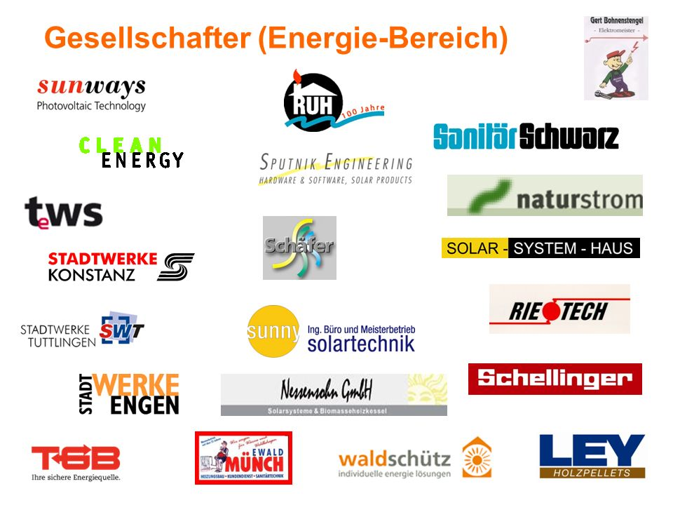 Gesellschafter (Energie-Bereich)