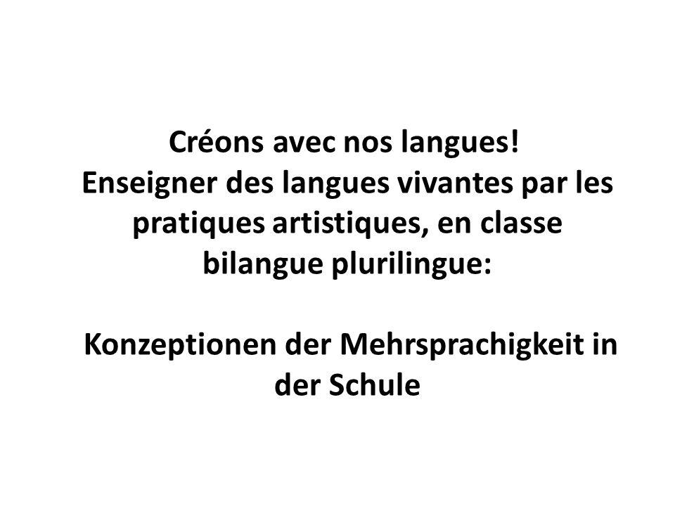 Konsekutives Sprachenlernen: Rezeptive Mehrsprachigkeit und Intercomprehension Konzeptionen der Mehrsprachigkeit in der Schule