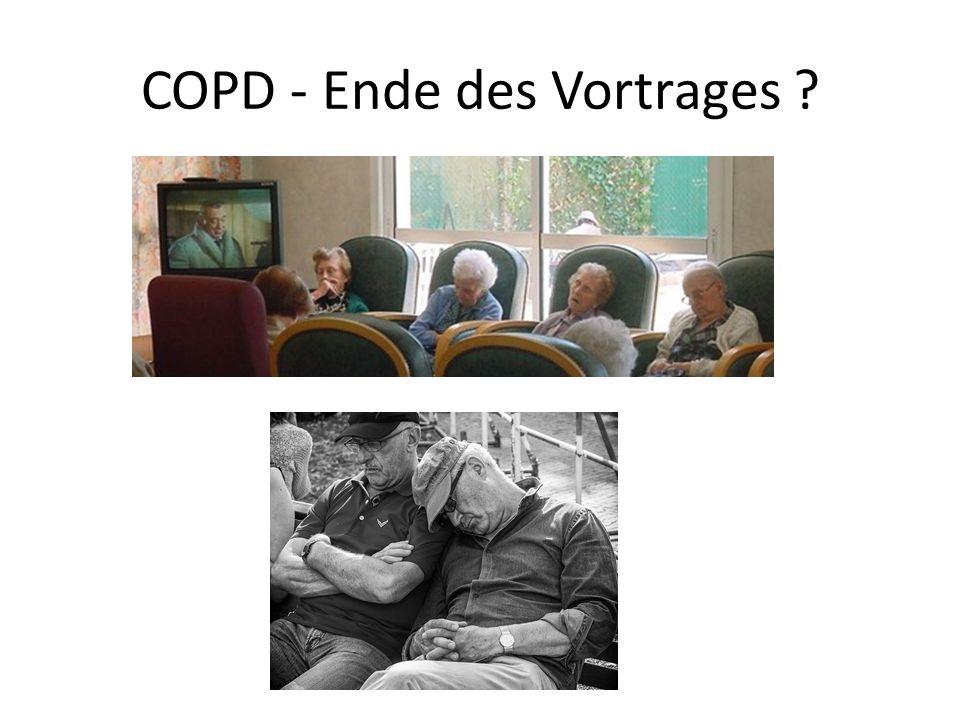 COPD - Ende des Vortrages ?