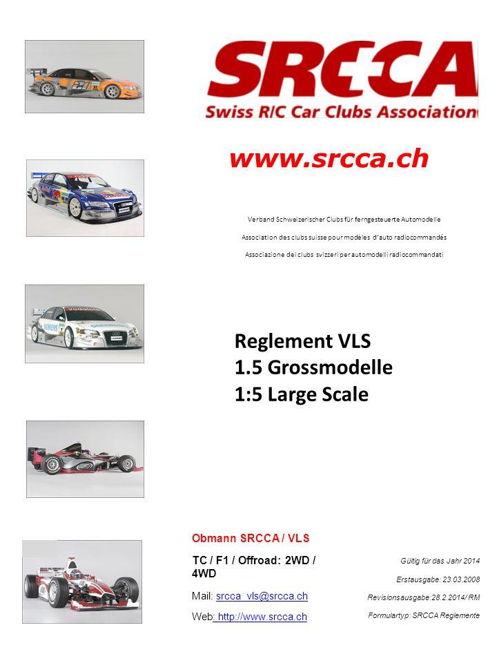 www.srcca.ch Verband Schweizerischer Clubs für ferngesteuerte Automodelle Association des clubs suisse pour modèles dauto radiocommandés Associazione
