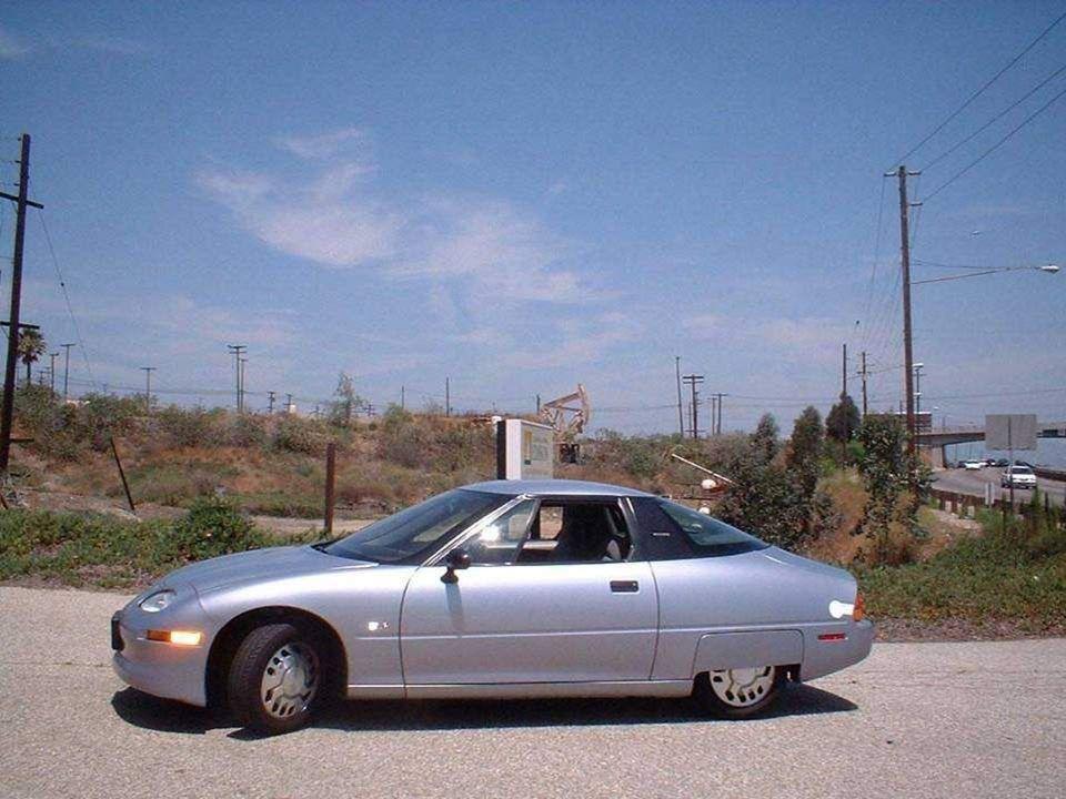 1996 wurde das erste Serien-Elektroauto, der EV1 (Electric V, von General Motors in den USA produziert und zirkulierte in den Straßen Kaliforniens.199