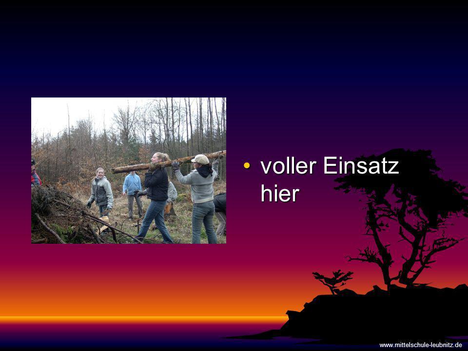 voller Einsatz hiervoller Einsatz hier www.mittelschule-leubnitz.de